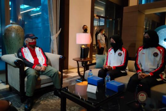 Basuki beri wejangan untuk dua pedayung Indonesia di Olimpiade Tokyo