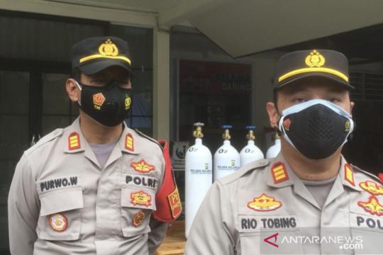 Polisi sediakan tabung oksigen untuk warga isoman di Kelapa Gading