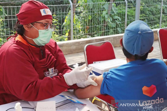 Lazada vaksinasi pelaku UMKM digital dan umum
