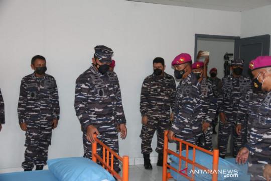 Kasal tinjau kesiapan pangkalan marinir jadi RS Darurat COVID-19