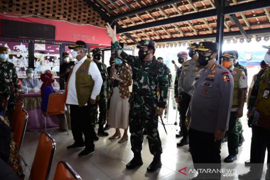 TNI kejar target 70 persen pelaksanaan vaksinasi di Jakarta