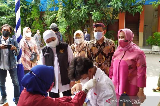 Gubernur: Cakupan vaksinasi COVID-19 Jawa Timur tertinggi se-Indonesia