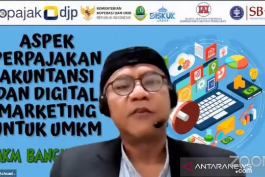 Alumnus IPB University paparkan perpajakan bagi UMKM dan e-Commerce