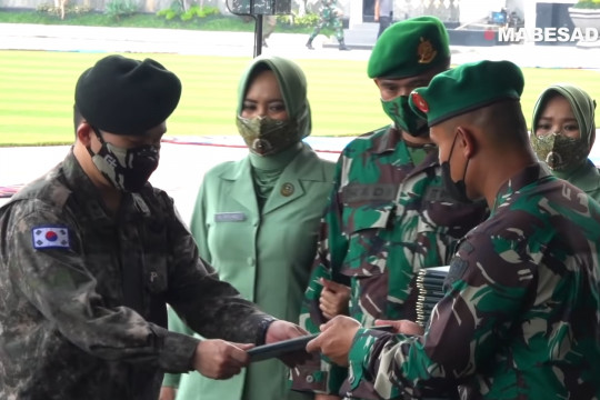 Perwira AD Korea Selatan sampaikan kesan ikuti Seskoad TNI AD
