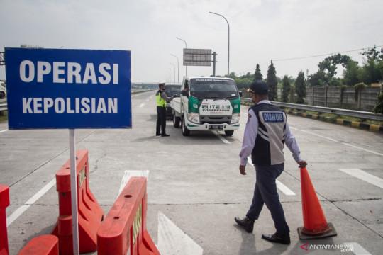 Penutupan pintu keluar tol di Jateng diperpanjang sampai 25 Juli