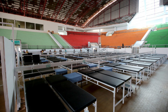 RS Darurat GOR Indoor GBT Surabaya mulai beroperasi Jumat besok