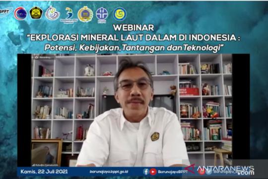 Dirjen: Eksplorasi sumber daya mineral laut dalam harus digencarkan