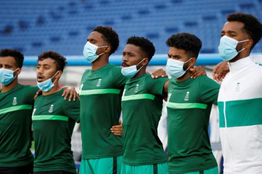 Sejumlah atlet muslim Olimpiade rayakan Idul Adha di Tokyo