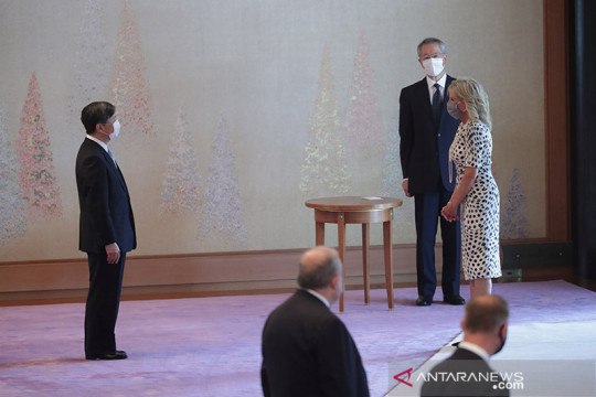 Kaisar Jepang bertemu ibu negara AS sebelum pembukaan Olimpiade