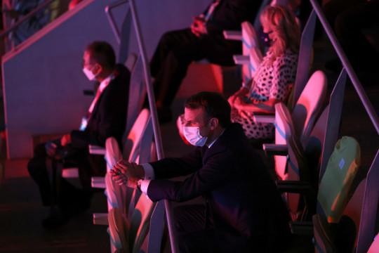 Presiden Prancis hadiri upacara pembukaan Olimpiade