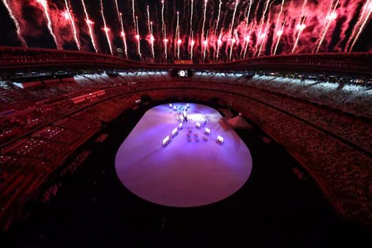 """Pembukaan Olimpiade, dari """"Imagine"""" sampai salut untuk petugas medis"""