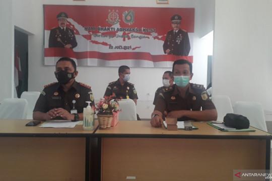 Kejari Bangka Tengah menerima SPDP 70 perkara pidana umum