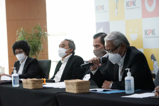 Dewas KPK tegaskan tak ada pegawai keberatan materi pertanyaan TWK