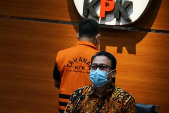 KPK konfirmasi tersangka aliran uang kasus suap proyek di Indramayu