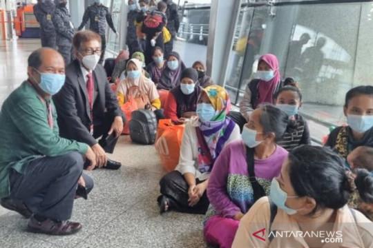 63 PMI dipulangkan dari penjara Malaysia