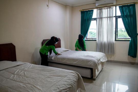 240 karyawan di Kabupaten Lahat isolasi mandiri secara ilegal di hotel