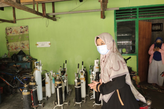 Bandarlampung bahas ketersedian tabung oksigen dengan 7 distributor