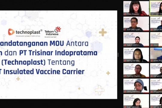 Telkom-Technoplast sinergi untuk inovasi kotak vaksin berteknologi IoT