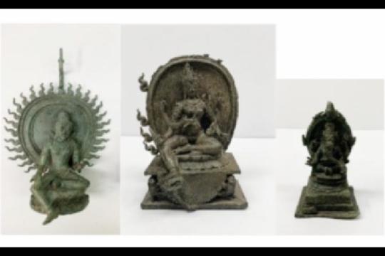 Kantor Jaksa Manhattan kembalikan tiga barang antik