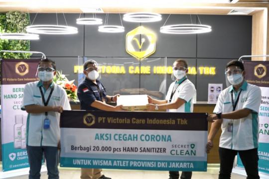 "RS Wisma Atlet terima 20 ribu ""hand sanitizer"""