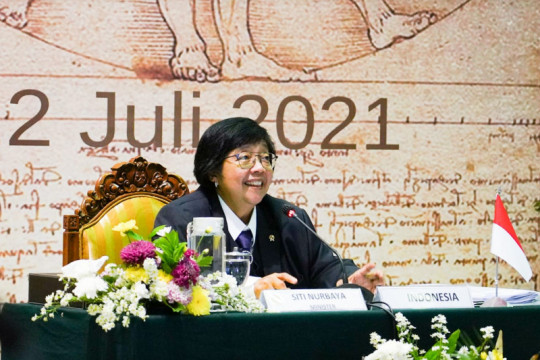 Menteri LHK: Negara G20 dapat menjadi katalis pemulihan lingkungan