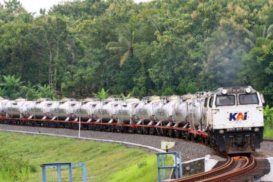 KAI gandeng PGN angkut LNG dengan kereta api
