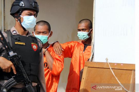 Polisi Dumai membongkar pembalakan liar