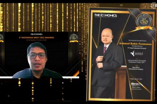 Dirut Pupuk Indonesia raih Best CEO Award 2021 kategori Petrochemical