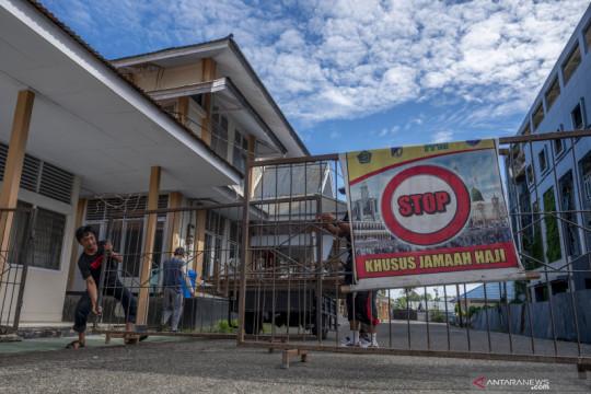 Asrama Haji Transit di Palu dijadikan RS Darurat COVID-19