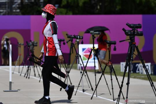 Tim panahan Indonesia gagal ke semifinal beregu campuran