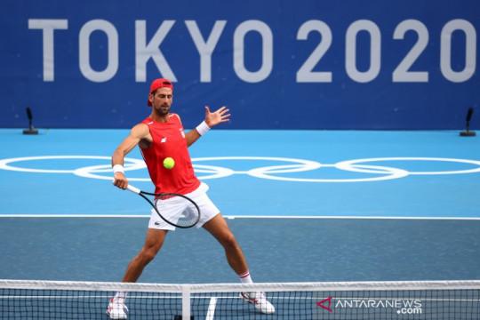 Djokovic, Osaka melaju di Olimpiade ketika para unggulan putri tumbang