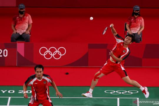 Hendra/Ahsan waspadai ganda putra Korea di laga terakhir Grup D
