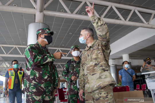 "Kasad harap latgab Garuda ""Shield"" pererat persahabatan TNI AD-US Army"
