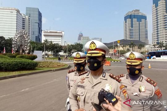 400 personel jaga jalur Bundaran HI dan Glodok