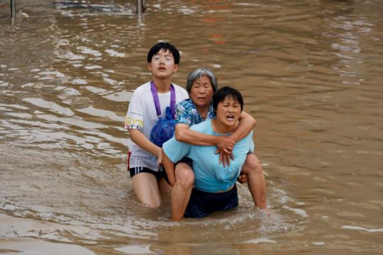 Korban tewas banjir Henan terus bertambah jadi 69 orang, lima hilang