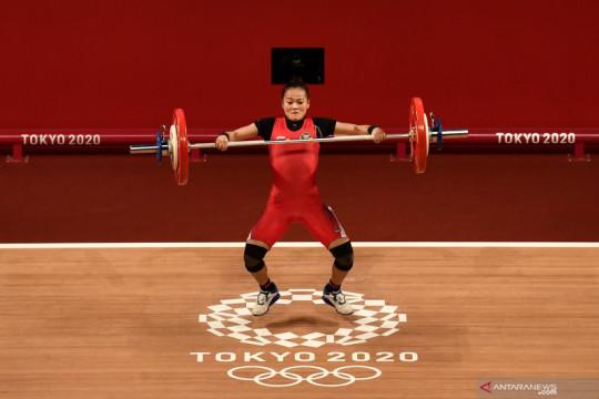 Windy Cantika tak menyangka bisa raih medali Olimpiade