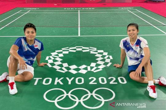 Greysia/Apriyani petik kemenangan pada laga pembuka Olimpiade Tokyo