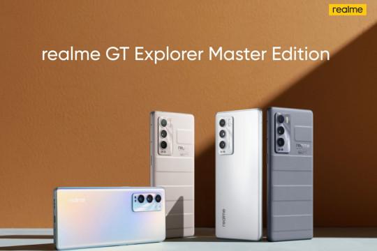 realme GT Master Edition meluncur di China