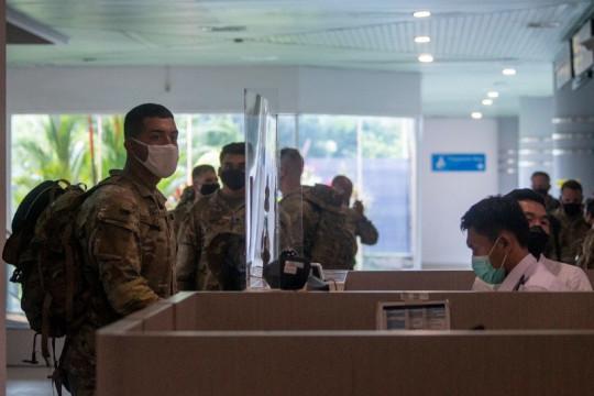 Latihan Bersama Garuda Shield, 330 Tentara AS tiba di Palembang