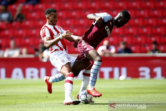Laga persahabatan pra-musim Liga Inggris: Aston Villavs Stoke City