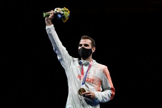 Szilagyi atlet anggar pertama sabet emas tiga Olimpiade berturut-turut