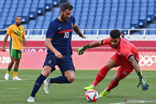 Prancis menang dramatis 4-3 atas Afrika Selatan di Olimpiade Tokyo