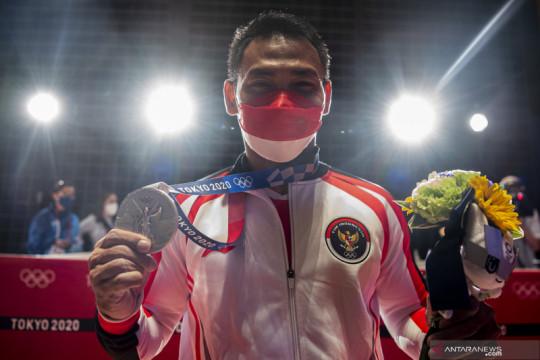 Khofifah: Terima kasih Eko Yuli persembahkan medali di saat pandemi