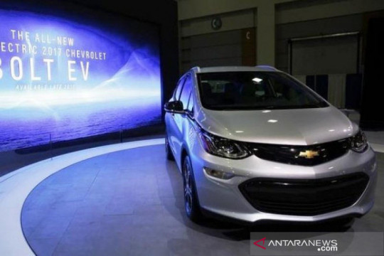 GM tarik hampir 69.000 Chevrolet Bolt listrik karena risiko kebakaran