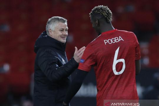 MU sedang bahas kontrak baru dengan Pogba, kata Solksjaer