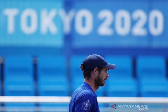 Kalah di ganda putra, Murray tidak yakin berlaga di Olimpiade Paris