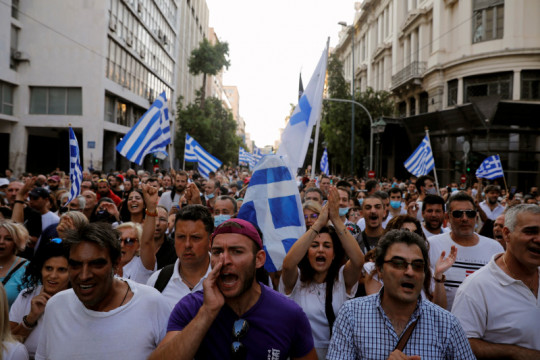 Yunani anjurkan vaksinasi COVID anak usia 12-15 tahun
