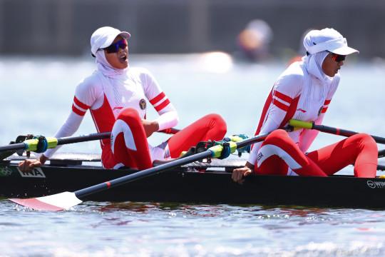 Pedayung Mutiara/Melani gagal ke semifinal Olimpiade Tokyo