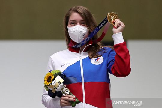 Vitalina Batsarashkina persembahkan emas menembak untuk ROC Rusia