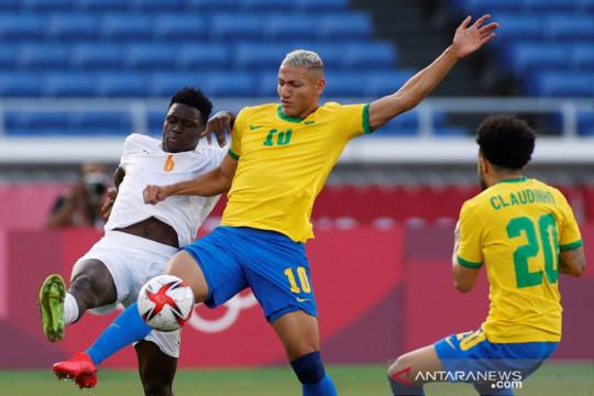 Sepak bola Olimpiade Tokyo : Brasil vs Pantai Gading